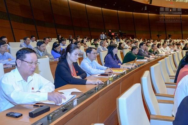 越南第十三届国会第十次会议发表十五号公报 hinh anh 1