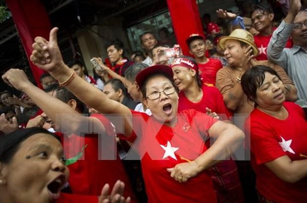 缅甸继续公布179名议员名单 hinh anh 1