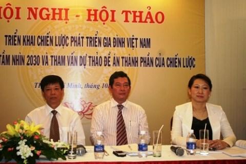 越南家庭发展战略取得值得鼓舞的成果 hinh anh 1