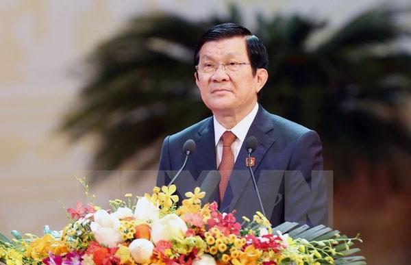 张晋创主席将赴菲出席亚太经合组织第二十三次领导人非正式会议 hinh anh 1