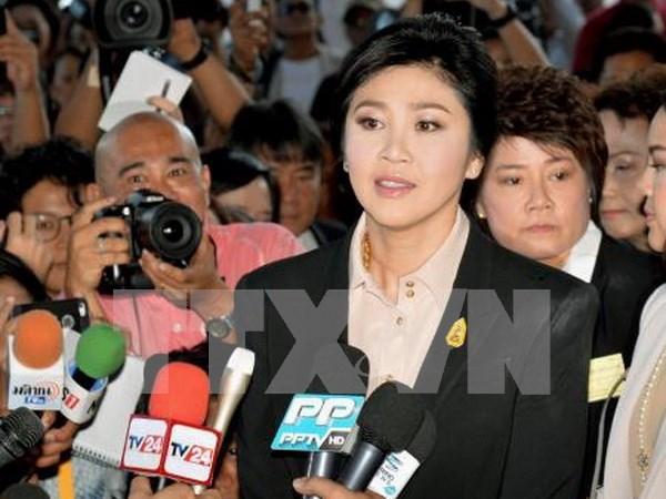 泰国前总理英拉发公开信为大米收购计划辩护 hinh anh 1