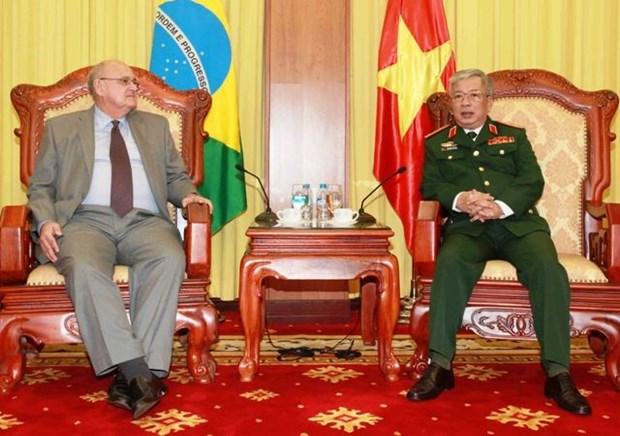 越南与巴西的防务合作潜力巨大 hinh anh 1