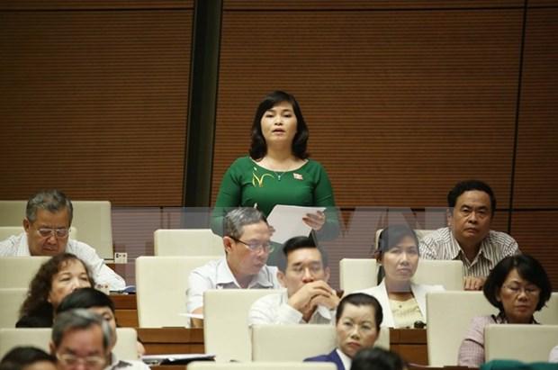 """越南第十三届国会第十次会议:""""儿童""""概念重新定义范围扩大 hinh anh 1"""
