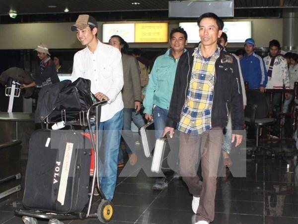 泰国正式接收越南劳工 hinh anh 1