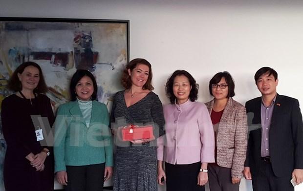 越南与挪威加强职业培训和发展企业的合作 hinh anh 1