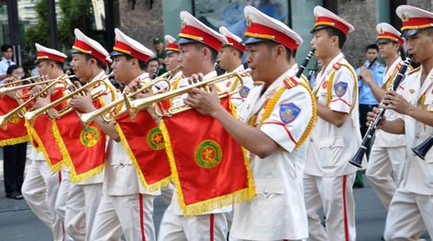 第20届世界警察音乐会在胡志明市热闹登场 hinh anh 1