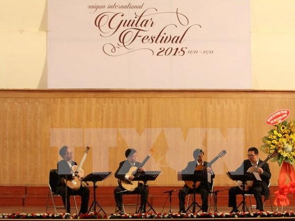 第二届西贡国际古典吉他艺术节亮相胡志明市 hinh anh 1