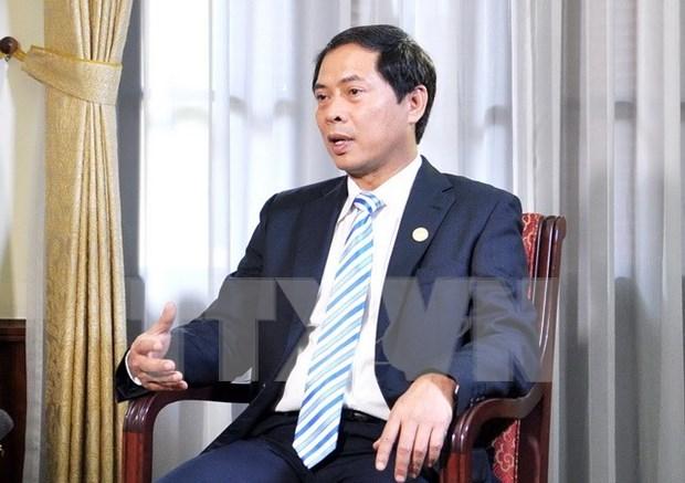 越南副外长裴青山:承办2017年APEC峰会是越南对外工作的重要核心之一 hinh anh 1