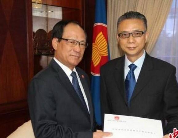中国驻东盟大使:中方愿推动实现东盟共同体建设 hinh anh 1
