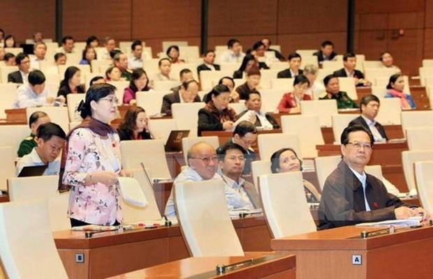 越南第十三届国会第十次会议发表第二十号公报 hinh anh 1