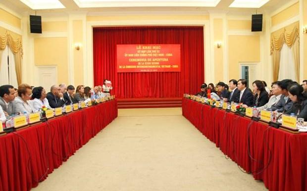 越古政府间委员会第33次会议在河内召开 hinh anh 1