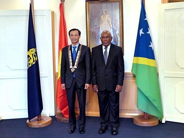 所罗门群岛与越南加强合作关系 hinh anh 1