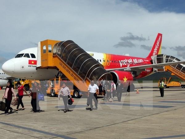 越南捷星太平洋航空公司开通三条新国内航线 hinh anh 1