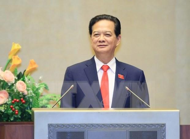 越南第十三届国会第十次会议:政府总理阮晋勇回答国会代表质询 hinh anh 1