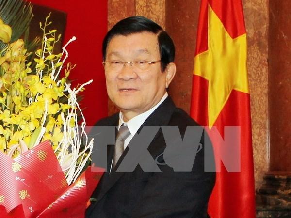 越南国家主席张晋创即将对德国进行国事访问 hinh anh 1