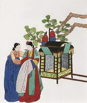 韩国刺绣作品展在河内开展 hinh anh 1