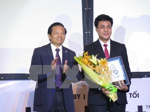 """越南外贸股份商业银行荣获""""2015年最佳零售银行奖"""" hinh anh 1"""