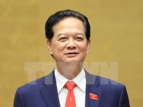 越南政府总理阮晋勇出席第27届东盟峰会 hinh anh 1
