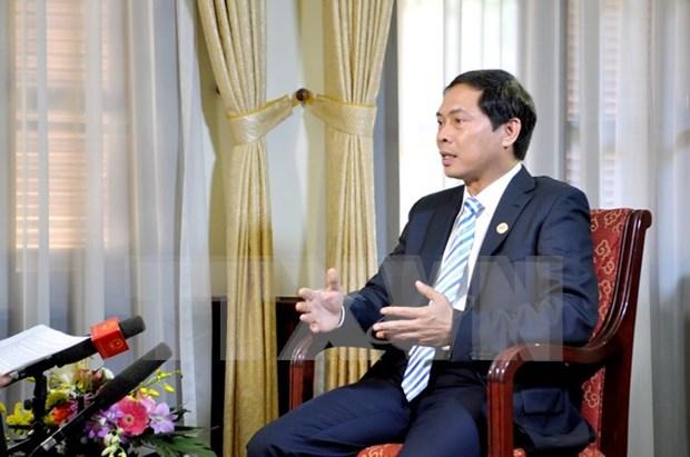 外交部副部长裴青山:越南为2015APEC峰会成功举办作出切实贡献 hinh anh 1