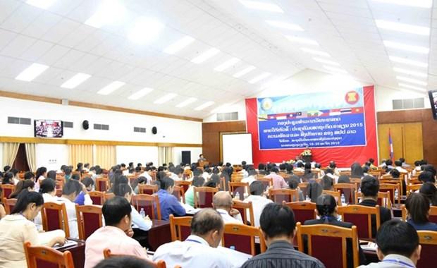 面向东盟经济共同体:老挝加强准备工作 hinh anh 1