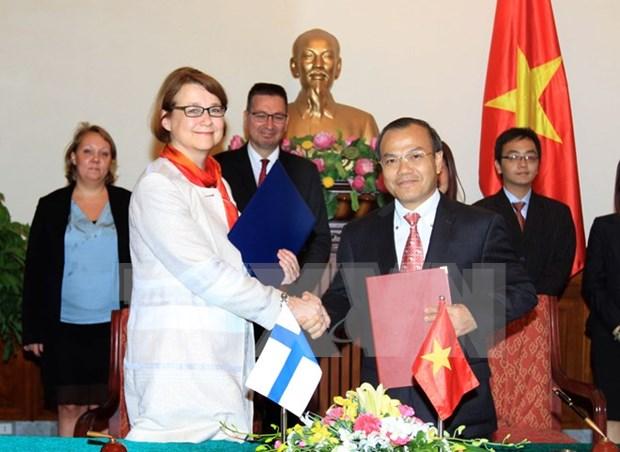 越南外交部副部长武鸿南会见芬兰外交部副部长 hinh anh 1