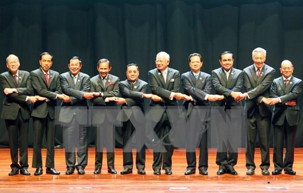 越南政府总理阮晋勇出席第27届东盟峰会开幕式 hinh anh 1
