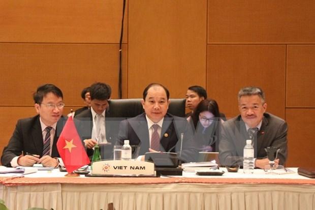越南参加2015年东盟贸易投资峰会 hinh anh 1