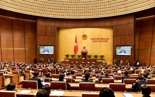 越南第十三届国会第十次会议发表第二十四号公报 hinh anh 1