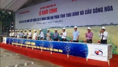 越南开工兴建投资金额1.3万亿越盾的两项交通工程 hinh anh 1