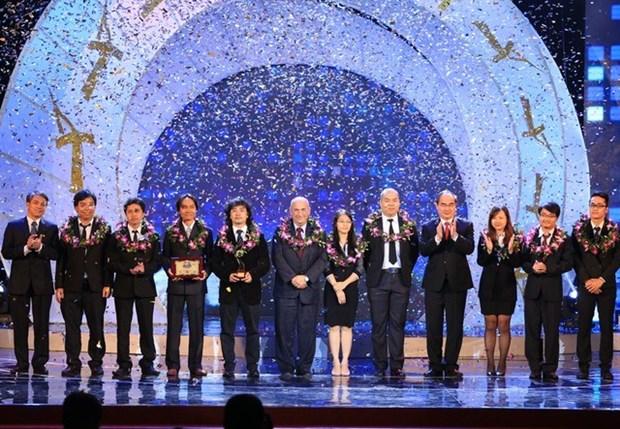 2015年越南人才奖颁奖仪式在河内举行 hinh anh 1
