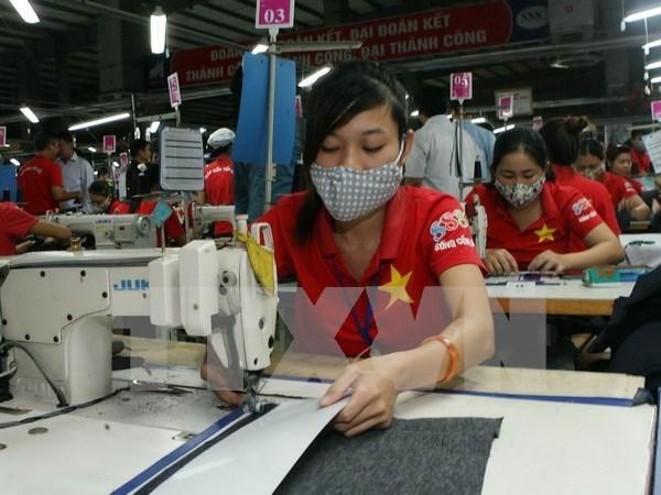 越南纺织品服装业努力应对加入《跨太平洋伙伴关系协定》后的挑战 hinh anh 1