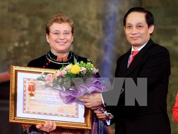 联合国教科文组织成立70周年纪念典礼在河内举行 hinh anh 1