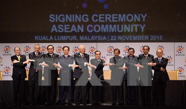建成统一、和平和繁荣的东盟共同体目标变成了现实 hinh anh 1
