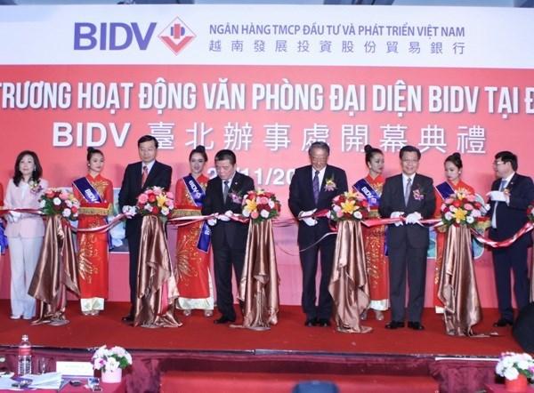 越南投资发展银行在台北开设办事处 hinh anh 1
