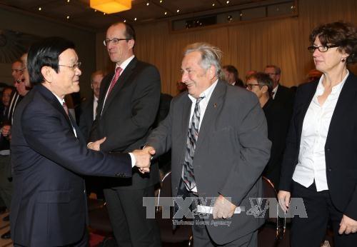 越南国家主席张晋创对德国进行国事访问 hinh anh 3