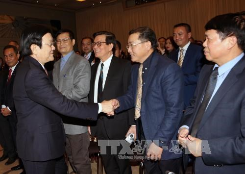 越南国家主席张晋创对德国进行国事访问 hinh anh 2