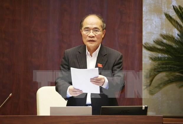 越南国会主席阮生雄被选为国家选举委员会主席 hinh anh 1