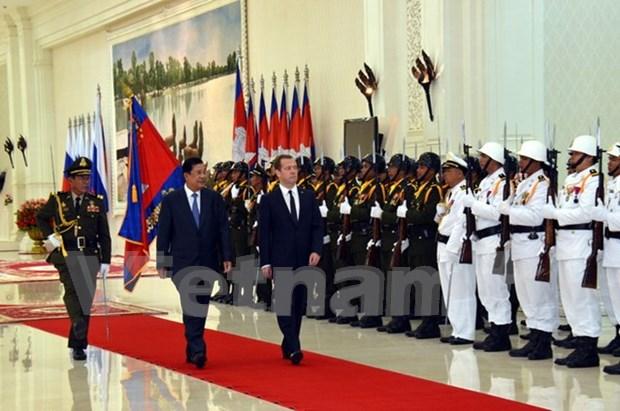 柬埔寨与俄罗斯共同签署六项合作协议 hinh anh 1