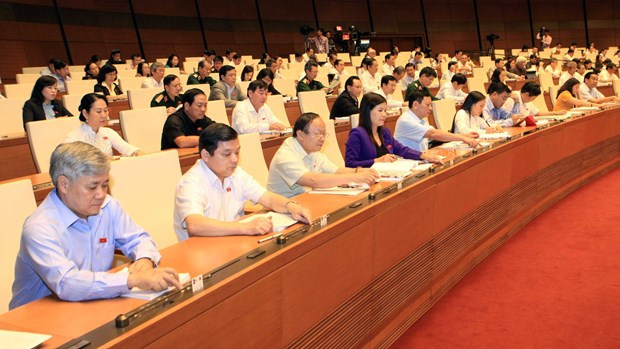 越南第十三届国会第十次会议发表第二十七号公报 hinh anh 1