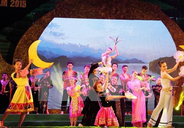 茶文化与东盟文化节昨晚在太原省拉开序幕 hinh anh 1
