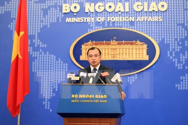 外交部发言人黎海平:越南支持本着国际法以和平方式解决东海争端 hinh anh 1