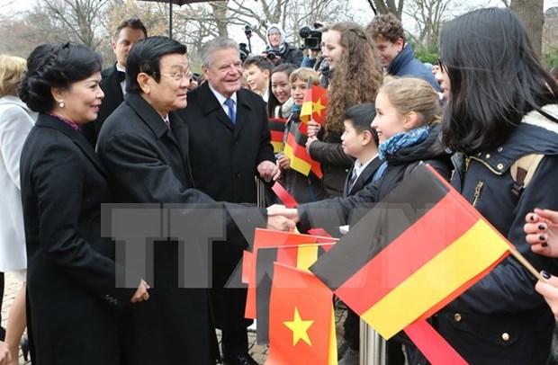 德媒:越南国家主席张晋创访德对双边关系具有重大意义 hinh anh 1