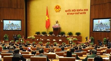 越南第十三届国会第十次会议发表第二十九号公报 hinh anh 1