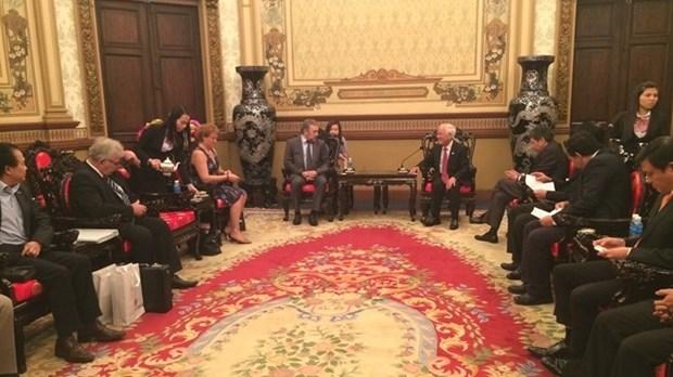 越南与保加利亚推动合作发展 hinh anh 1
