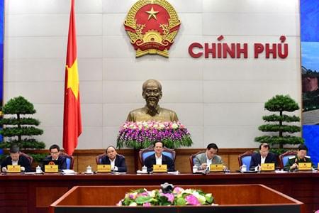 越南政府召开11月例行会议努力展开所提出的各项目标 hinh anh 1