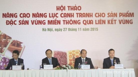越南寻找措施提高各地方土特产竞争力 hinh anh 1