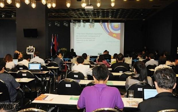 越南与泰国加强海洋资源与环境可持续管理合作 hinh anh 1