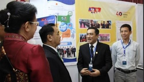 越南参加2015年万象博览会 hinh anh 1