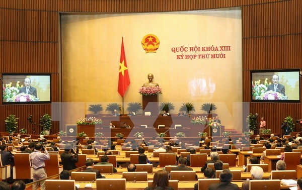 越南国会一次具有多项革新内容的会议留下的印迹 hinh anh 1