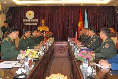 越中加强联合国维和领域的合作 hinh anh 1